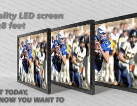 #29 for 3D LED Screen Banner Design by MRupcic