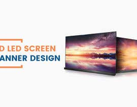#10 for 3D LED Screen Banner Design by CGplus
