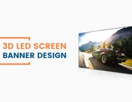 #35 for 3D LED Screen Banner Design by CGplus
