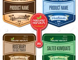 #32 for Beautiful and Classy Product Labels by ELMANARA