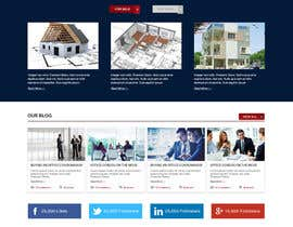 #41 for Design a Website Mockup for an Office Condominium Website  Redesign by bddesign9