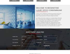 #33 for Design a Website Mockup for an Office Condominium Website  Redesign by creative223
