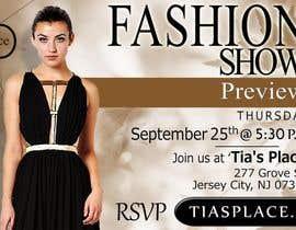 zinebzeno tarafından Fall Fashion Preview Promotional Flyer & Postcard için no 30
