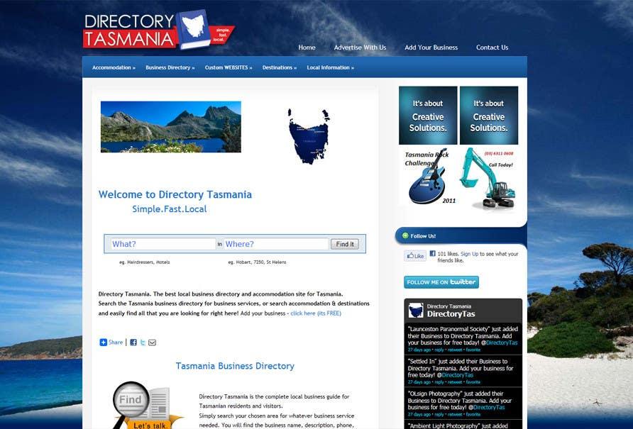 Inscrição nº                                         131                                      do Concurso para                                         Logo Design for Directory Tasmania