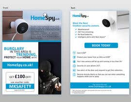 #21 for Design a two side A5 Flyer for home security installation company by Ichwan94