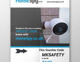 #17 for Design a two side A5 Flyer for home security installation company by Helal420