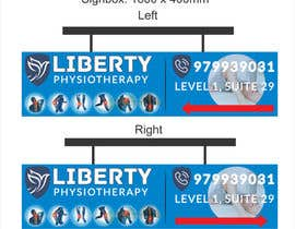 #87 for Design a Lightbox sign for our physiotherapy clinic by WillPower3