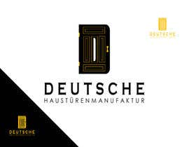 "#10 for Design a Logo for my company ""DEUTSCHE HAUSTÜRENMANUFAKTUR"" by alviolette"