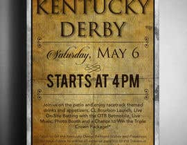 #6 for 11x17 Graphic for Kentucky Derby Party by ouzmetu
