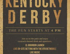 #14 for 11x17 Graphic for Kentucky Derby Party by ugougotbs