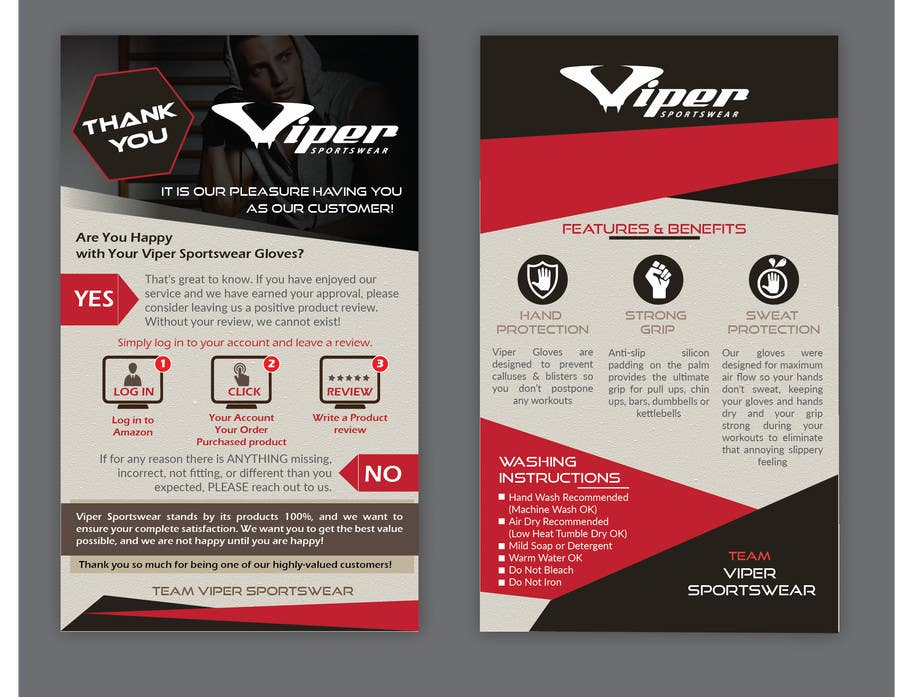 entry 12 by biplob36 for design a brochure insert card for our