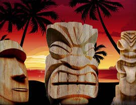 #12 for Design a large high quality Tiki Poster by Xuanhoangf