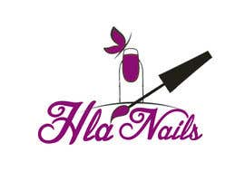 #73 for Hla Nails logo by jhgdyuhk
