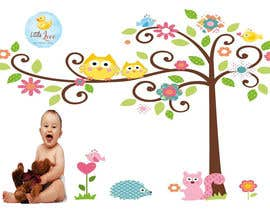#40 for Graphic Design: Baby Theme Background by designeager