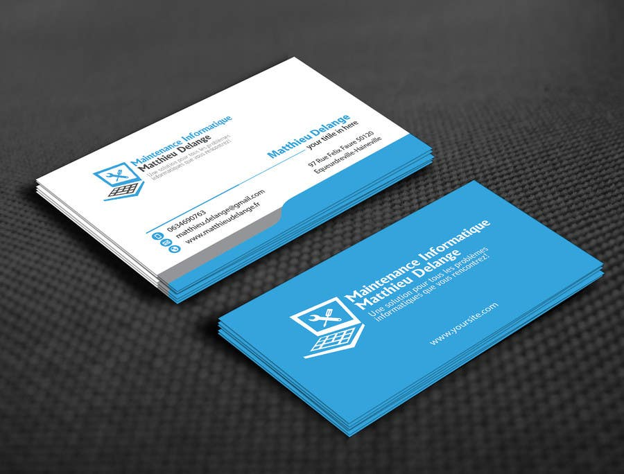 Entry #22 by mamun313 for Business cards computer repair | Freelancer