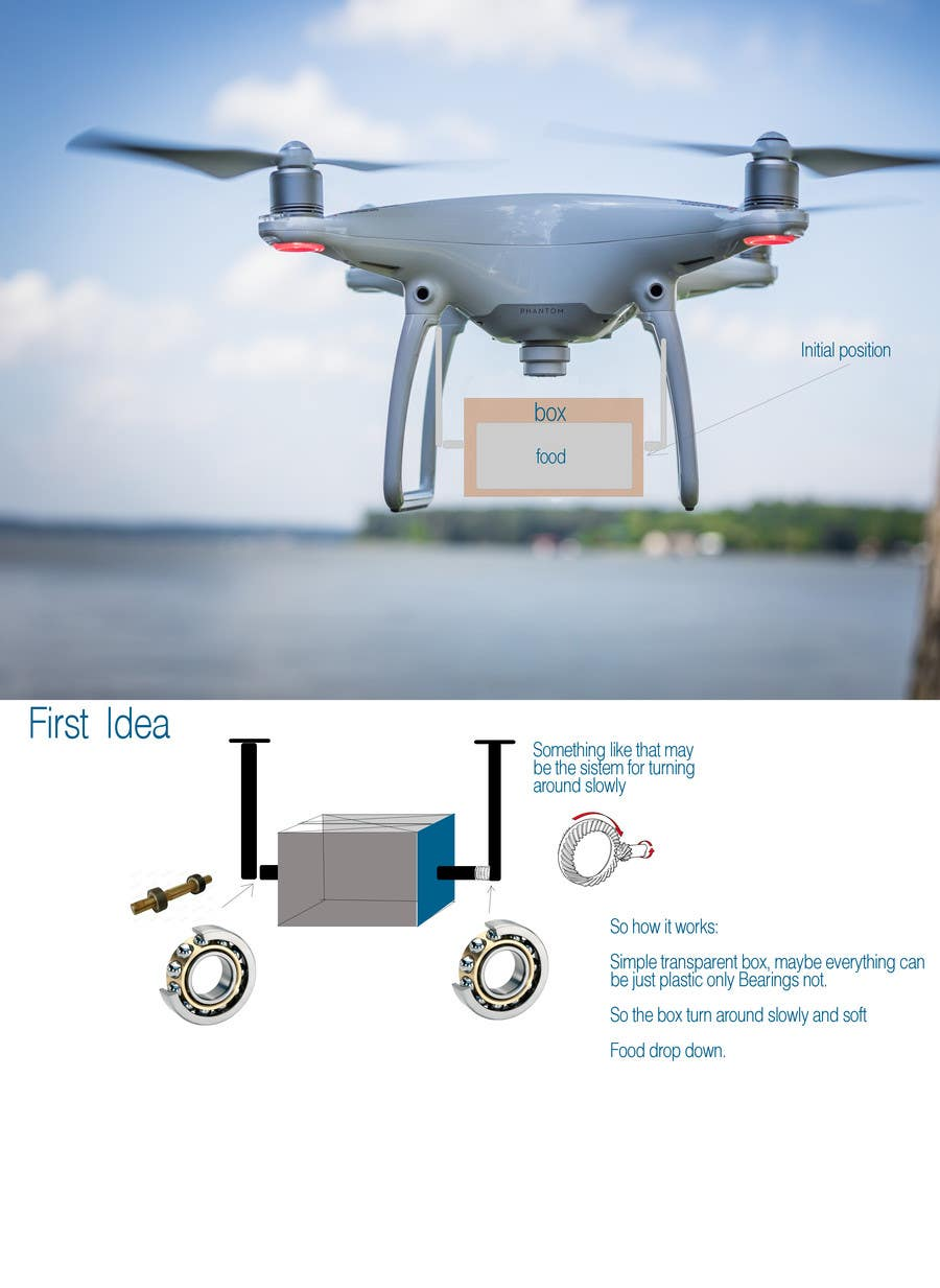 Contest Entry 2 For Design The First Ever Food Delivery Drone Earn 400