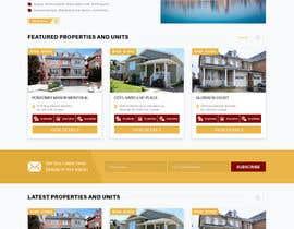 #11 for Design a Website Mockup by bddesign9