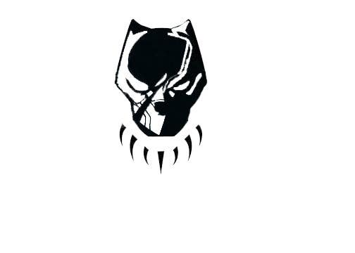 Entry #24 by bulbuliislam45 for Vector Black Panther face ...