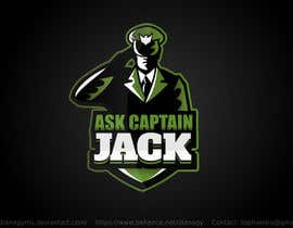 #88 for Ask Captain Jack logo by MimozaDiana