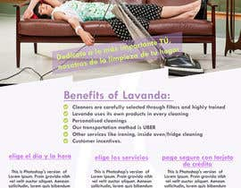 #57 for Create a flyer design for Lavanda by mithuimpetus
