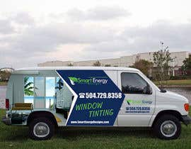 #43 for Vehicle Wrap for 2005 Ford E-150 Van by esatheboss