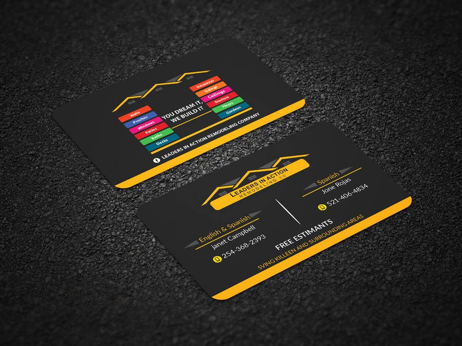 Contest Entry #125 for Design some Business Cards