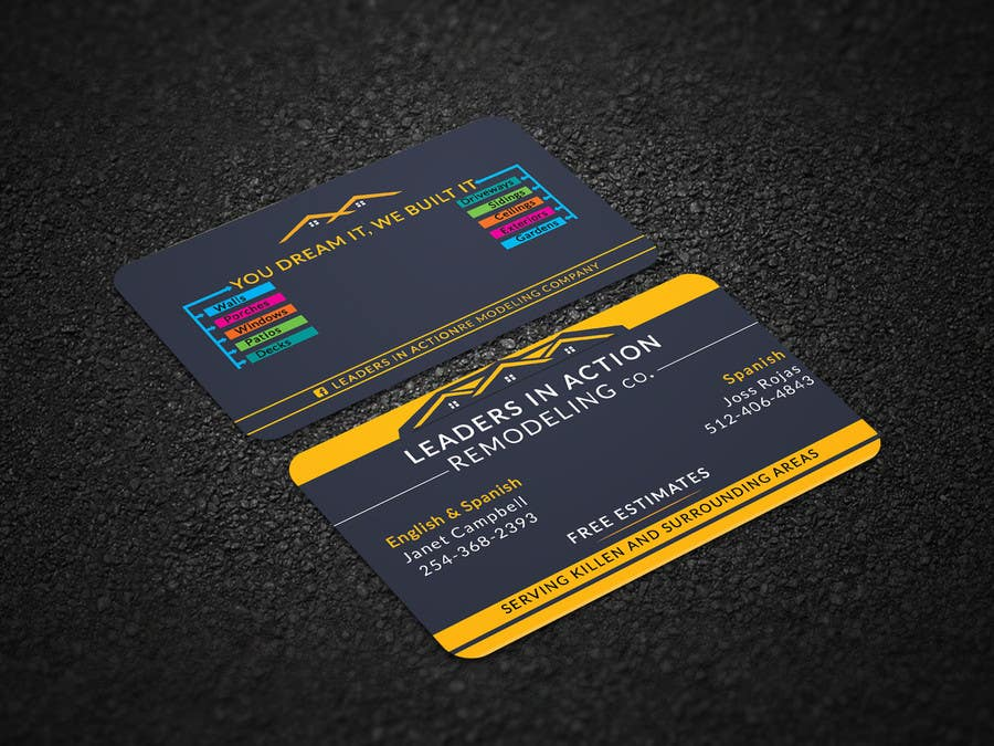 Contest Entry #82 for Design some Business Cards