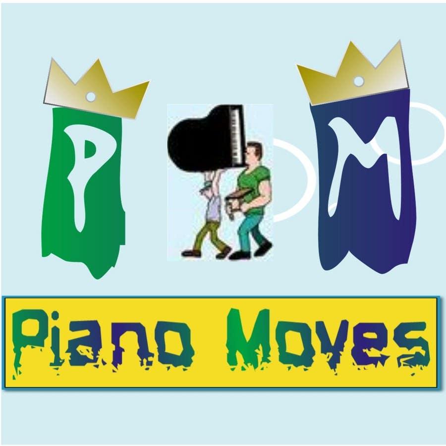 Συμμετοχή Διαγωνισμού #15 για Logo Design for Piano Moves