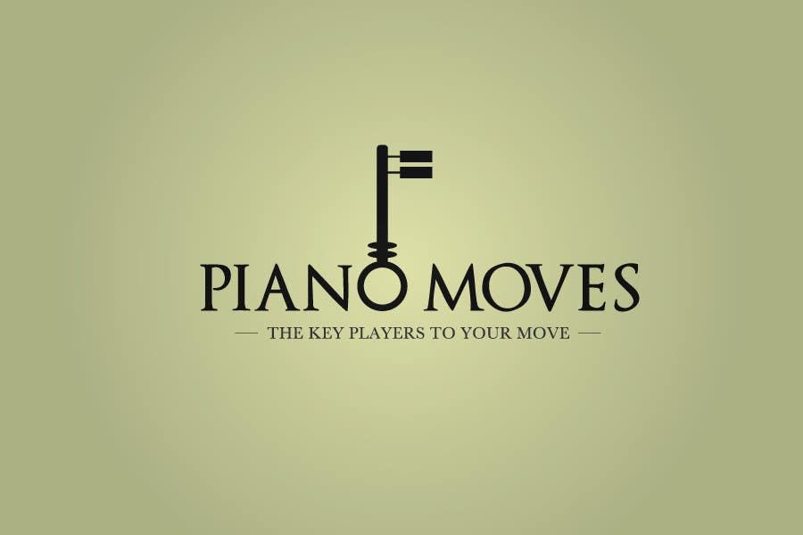 Συμμετοχή Διαγωνισμού #34 για Logo Design for Piano Moves