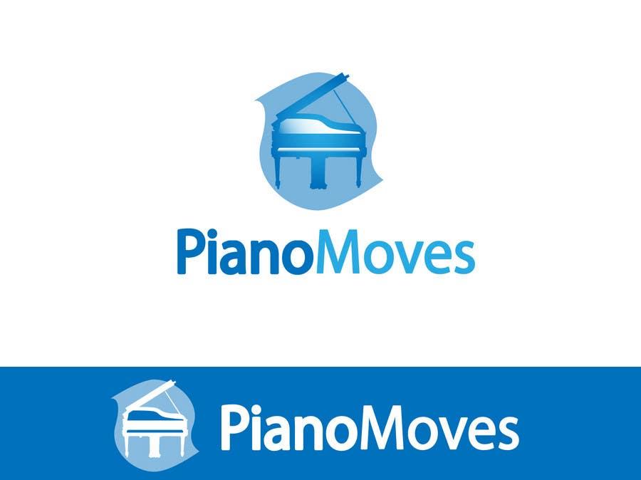 Συμμετοχή Διαγωνισμού #2 για Logo Design for Piano Moves