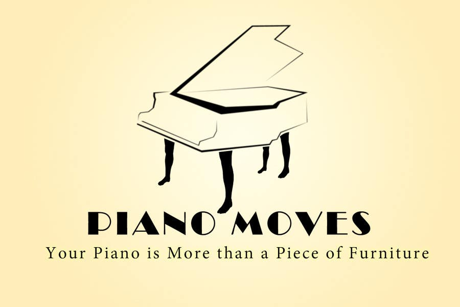 Συμμετοχή Διαγωνισμού #174 για Logo Design for Piano Moves