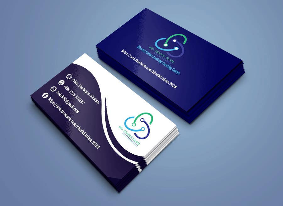 Entry #39 by samiran981 for Simple and creative Business Card ...