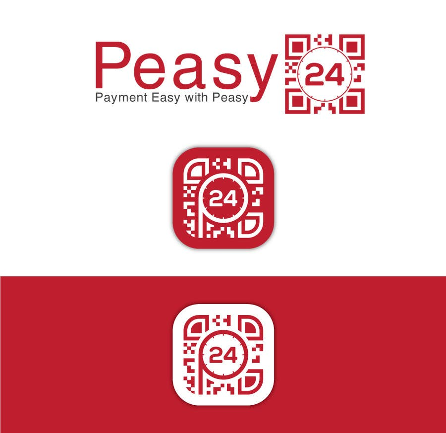Contest Entry #253 for Peasy24 Logo