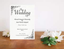 #18 for Order of Service - Wedding Design by dilipprasad406