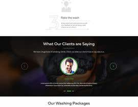 #7 for Build a beautiful single landing page by webplane8