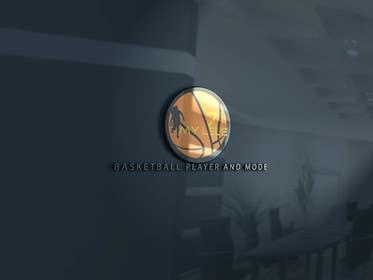 #57 for Logo design for youth girl basketball/ modeling (MYLELE) by fastdesigne