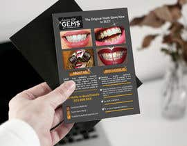 #34 for Design a Snazzy Dazzly Flyer for ToothGems By MoMo!! :)~ by ROCKdesignBD