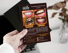 #47 for Design a Snazzy Dazzly Flyer for ToothGems By MoMo!! :)~ by ROCKdesignBD