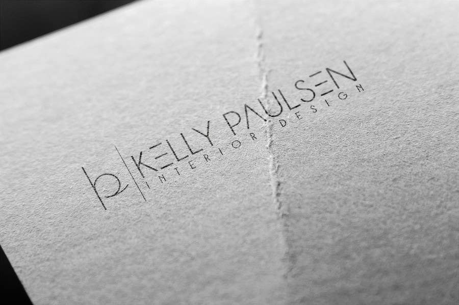 """Intrarea #159 pentru concursul """"Logo for Kelly Paulsen Interior Design"""""""