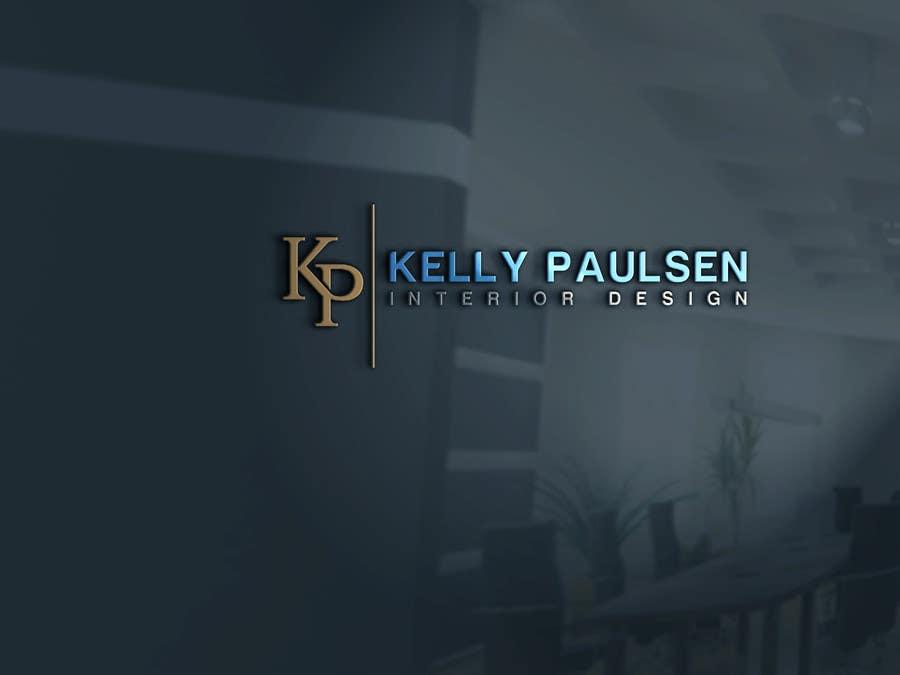 """Intrarea #164 pentru concursul """"Logo for Kelly Paulsen Interior Design"""""""