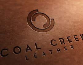 nº 13 pour Design Coal Creek Leather Logo par CREArTIVEds