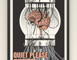 #12 for Quiet Please - Poster Design Comp by MunaNazzal