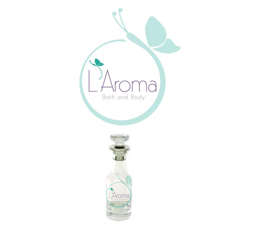 Inscrição nº                                         233                                      do Concurso para                                         Logo Design for L'Aroma Bath and Body