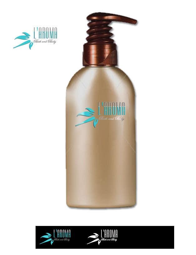Inscrição nº                                         191                                      do Concurso para                                         Logo Design for L'Aroma Bath and Body