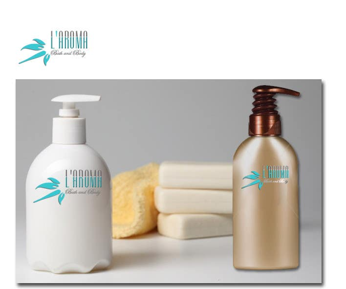 Contest Entry #192 for Logo Design for L'Aroma Bath and Body