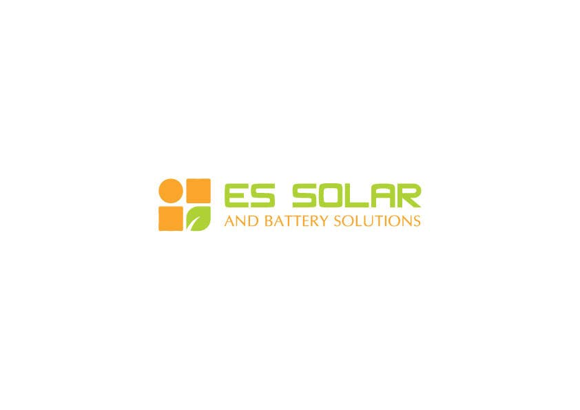 Contest Entry #44 for Logo for business - ES Solar and Battery Solutions