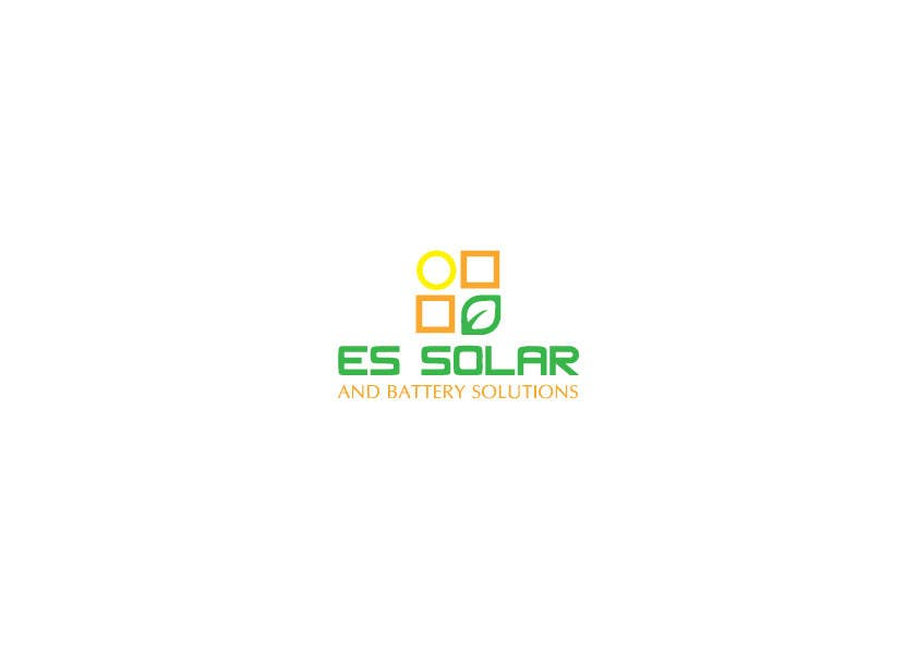 Contest Entry #143 for Logo for business - ES Solar and Battery Solutions