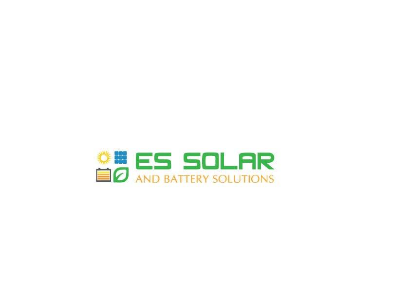 Contest Entry #176 for Logo for business - ES Solar and Battery Solutions