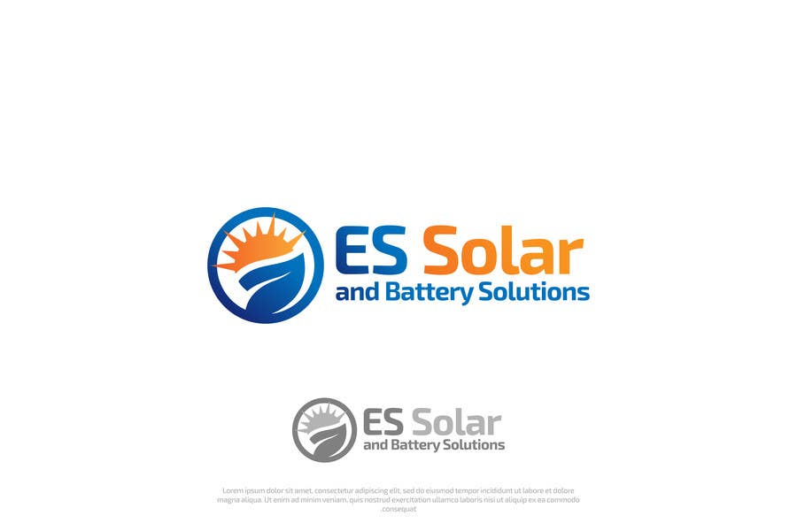 Contest Entry #102 for Logo for business - ES Solar and Battery Solutions