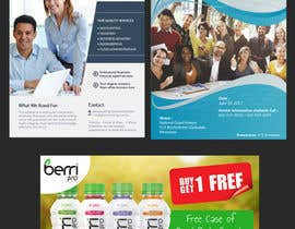 "nº 6 pour Design double sided promotional ""club"" flyer for a lacrosse company par spa182010"